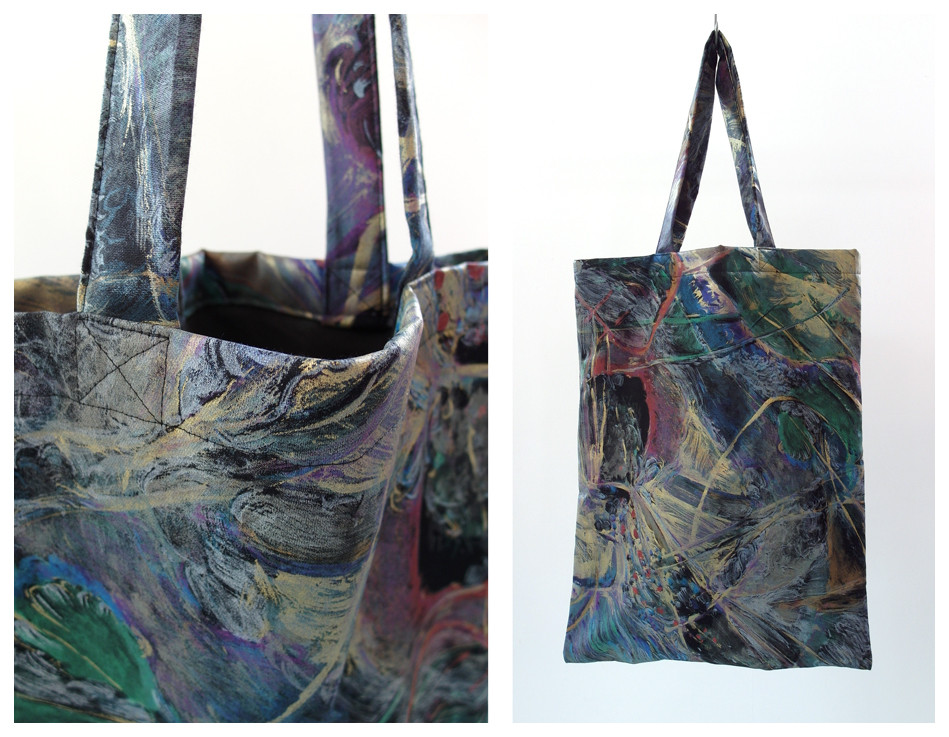 Random work from DEARHUNTER  | BAGS | DH Abstract Painting Bag