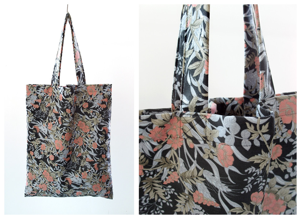 Random work from DEARHUNTER  | BAGS | DH Japanese Floral Bag