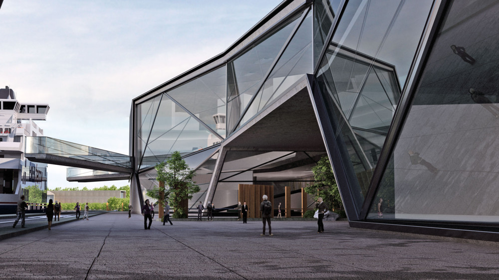 Courtesy urban office Networking Kinmen Ferry Terminal Urban Office Architecture Urban Office Architecture Master Planning Kinmen