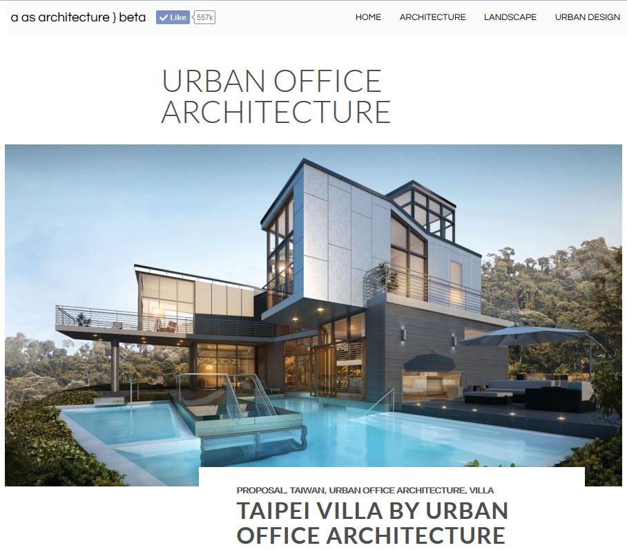 URBAN OFFICE ARCHITECTURE PRESS A AS ARCHITECTURE - Aviators villa urban office architecture